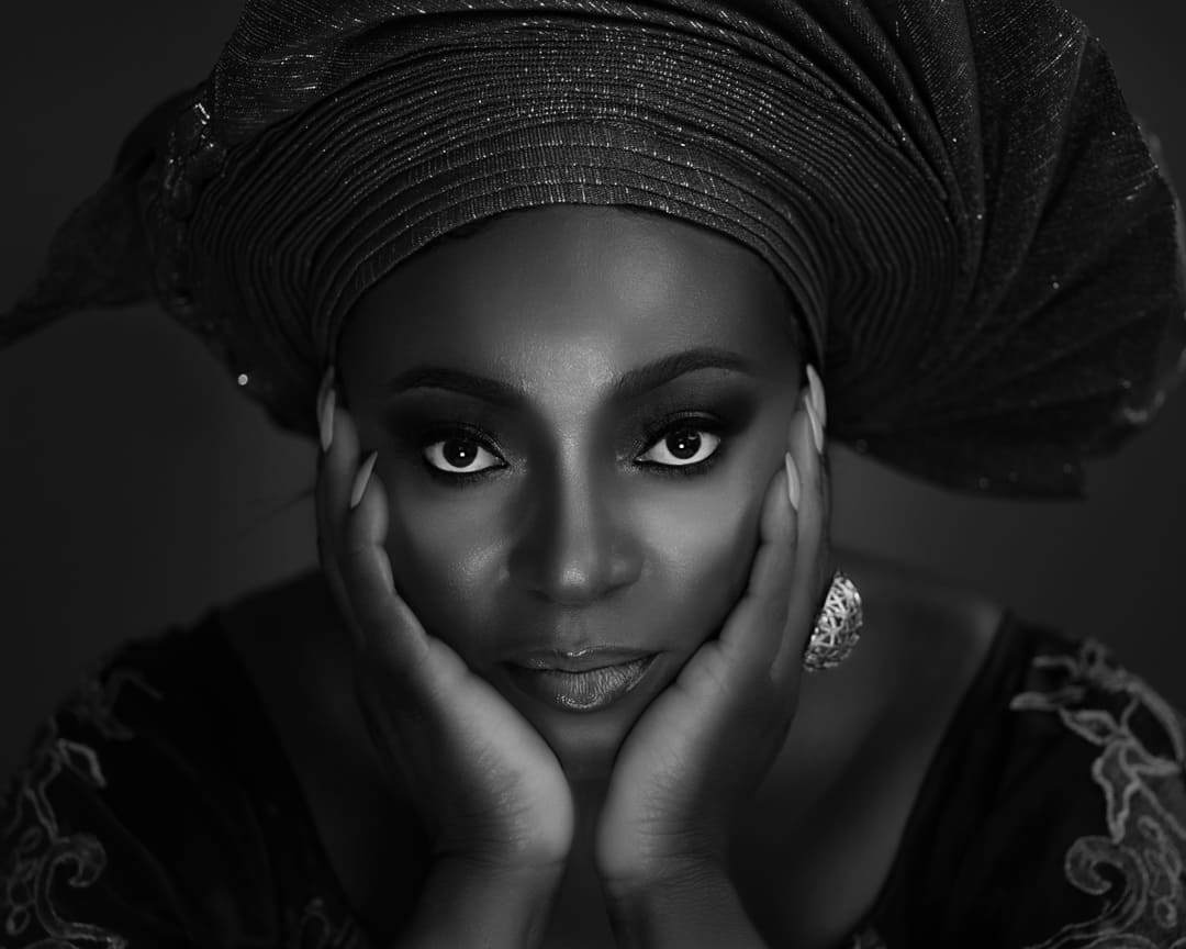 """""""Powerful Photography"""" Black & White Portrait of an African Queen. https://powerfulPhotography.co.uk"""
