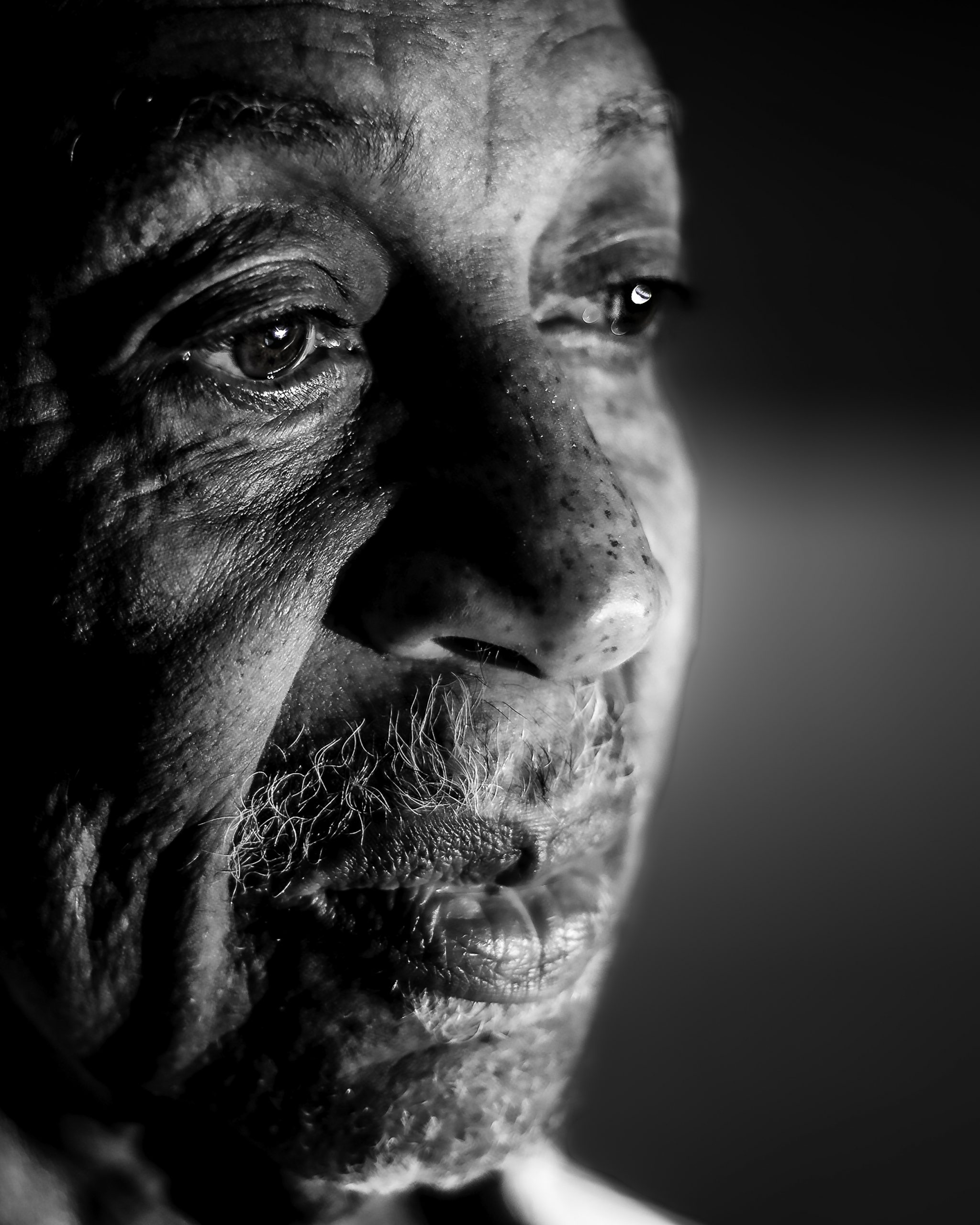 A face of Wisdom, Life & Love. Powerful Photography